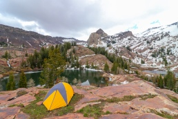 twin lakes wilderness area wasatch national forest lake blanche sundial peak camping hiking tent teton sports